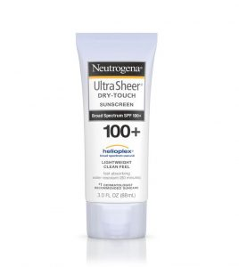 Neutrogena Ultra Sheer Dry Touch Sunscreen SPF 100+
