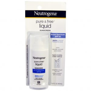 Neutrogena Pure & Free Liquid Sunscreen SPF 50