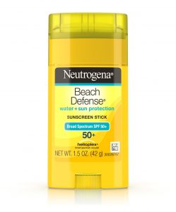 Kem chống nắng Neutrogena Beach Defense Water + Sun Protection Sunscreen Stick Broad Spectrum SPF 50+
